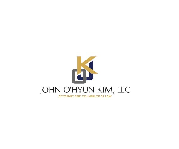 john-ohyun-kim-llc-logo-design-law-firm