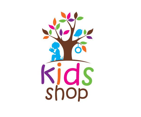 kids-shop-logo-design