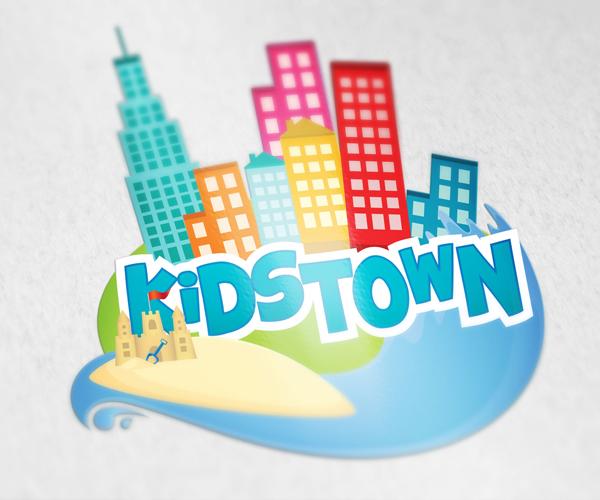 kids-town-logo-design