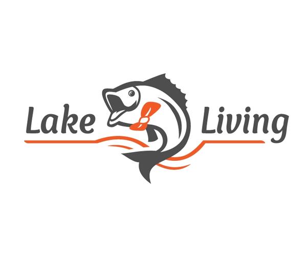 lake-living-logo-design