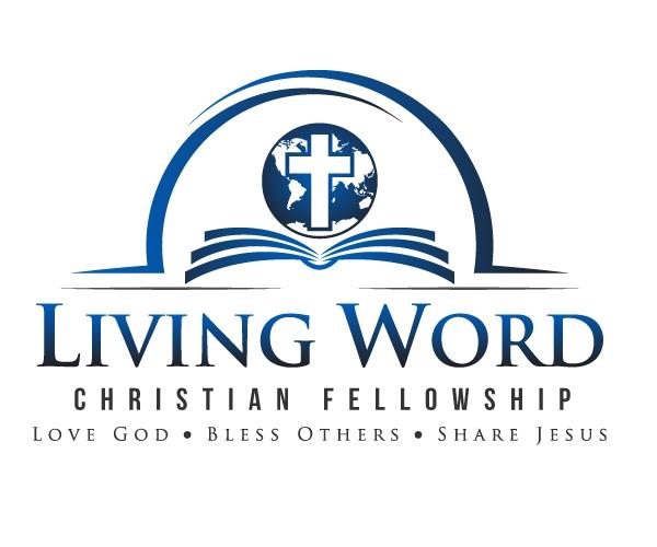 living-word-christian-fellowship-logo-design