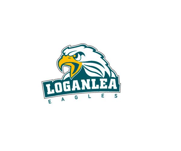 loganlea-eagles-logo-design