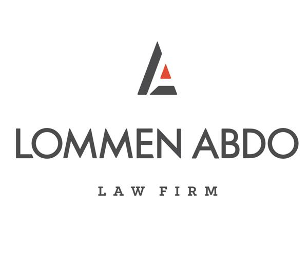 lommen-abdo-law-firm-logo-designer