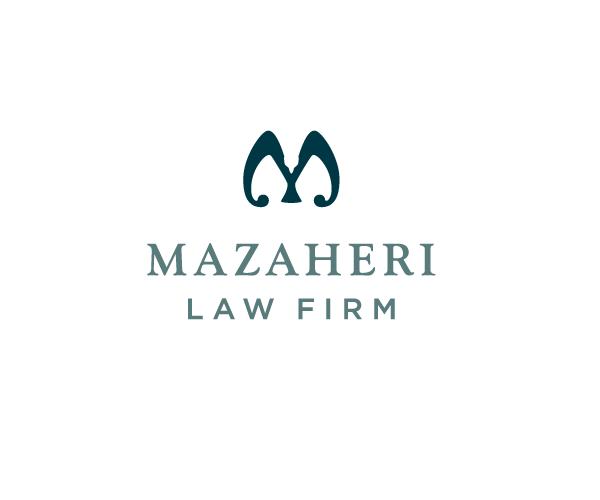 mazaheri-law-firm-logo-design