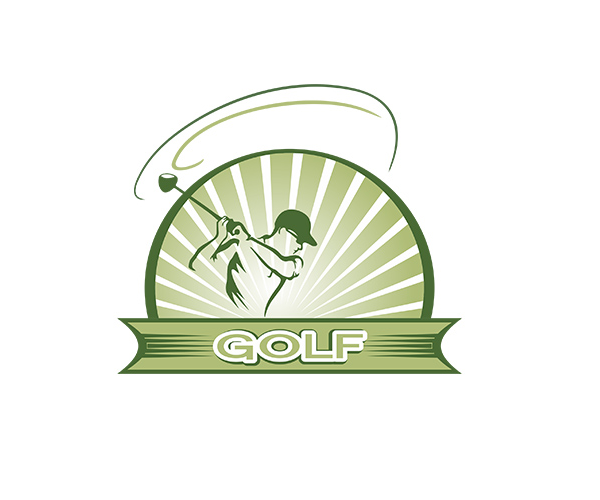 new-creative-simple-golf-logo