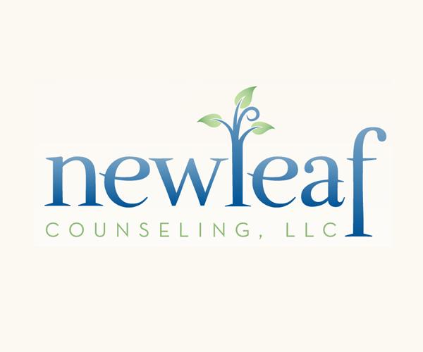 new-leaf-counseling-logo-design