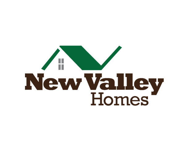 new-valley-homes-logo-design