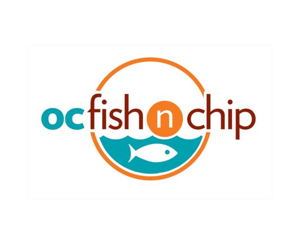 oc-fish-n-chip-logo-design