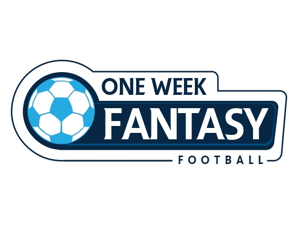 one-week-fantasy-football-logo-design-3