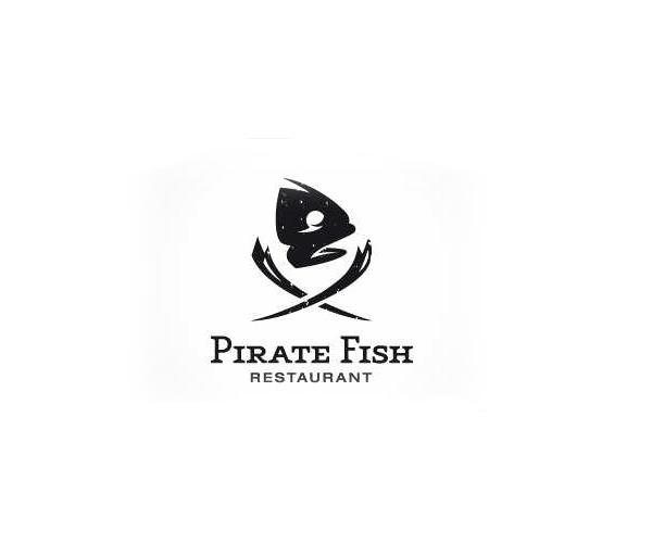 pirate-fish-restaurant-logo-design