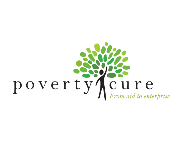 poverty-cure-logo-design-for-aid