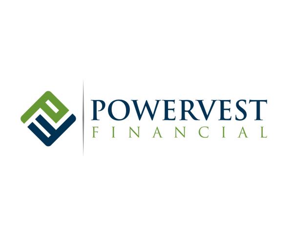 powervest-financial-logo-design