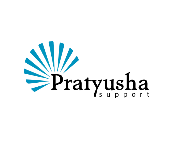 pratyusha-support-logo-design