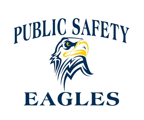 public-safety-eagles-logo-design