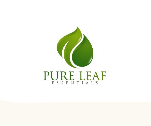 pure-leaf-logo-design