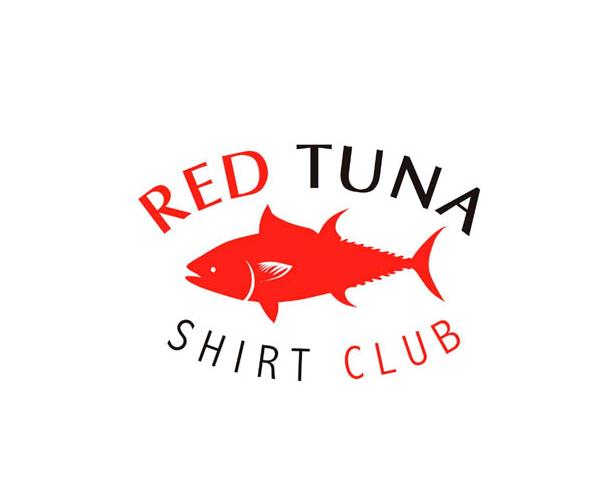 red-tuna-shirt-club-logo-design