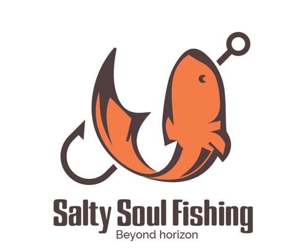 salty-soul-fishing-logo-design