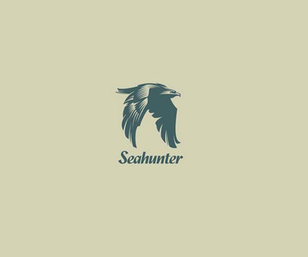 sea-hunter-logo-design