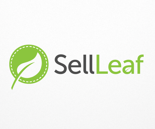 sell-leaf-logo-design