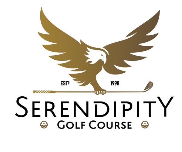 serendipity-gold-course-logo-design