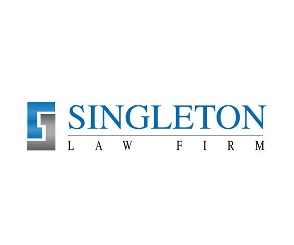 singleton-law-firm-logo-design