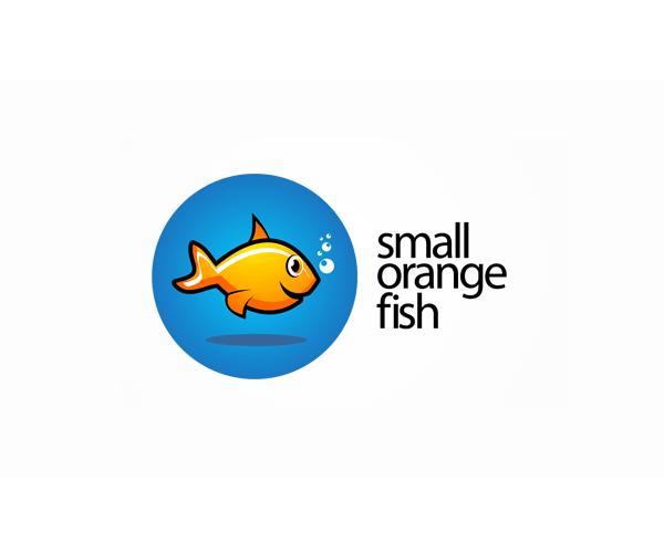 small-orange-fish-logo