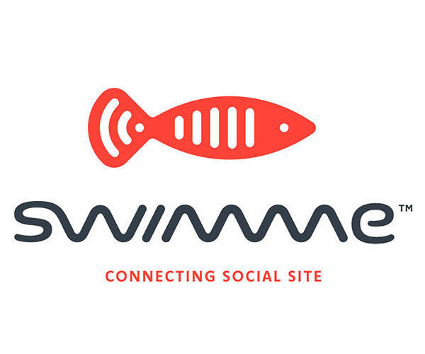 swimme-social-site-logo-design