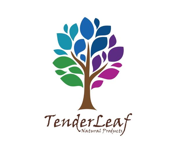 tender-leaf-logo-design
