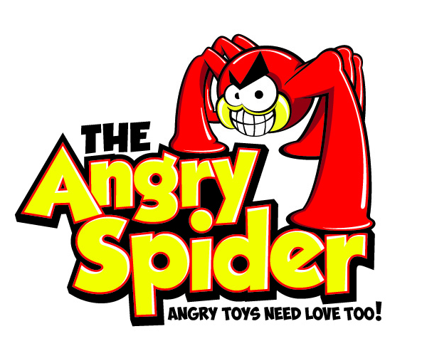 the-angry-spider-logo-design