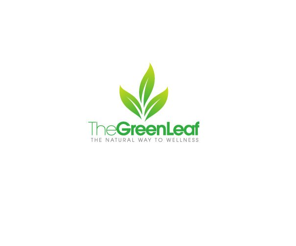 the-green-leaf-market-logo-design