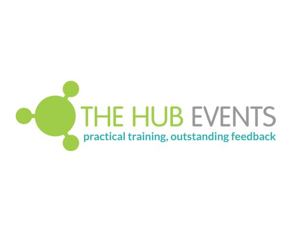 the-hub-events-logo-design