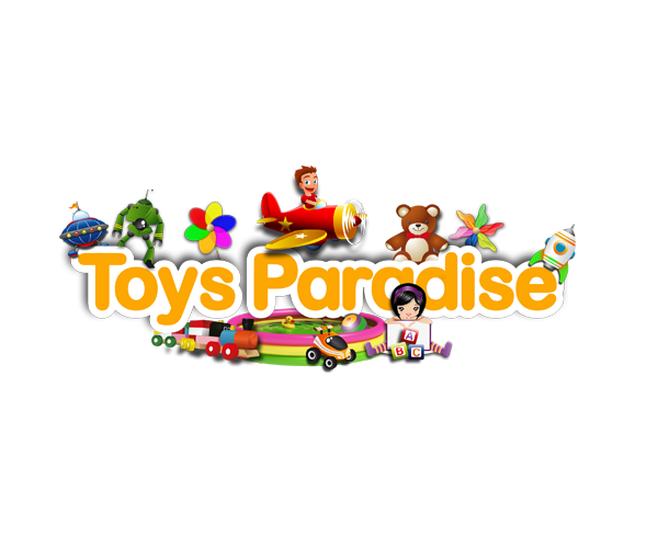 toys-paradise-logo-design