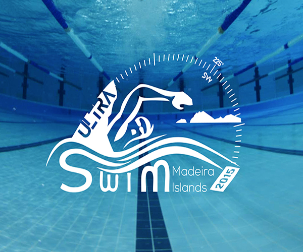 ultra-swim-maderia-islands-logo-design
