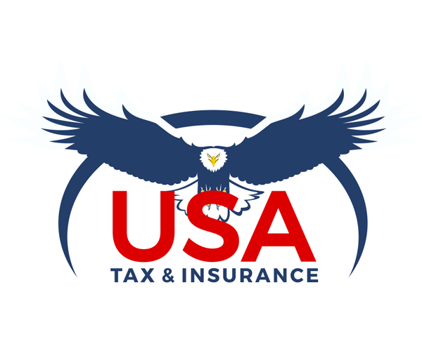 usa-tax-and-insurance-logo-deisgn