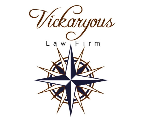 vickaryous-law-firm-logo-design