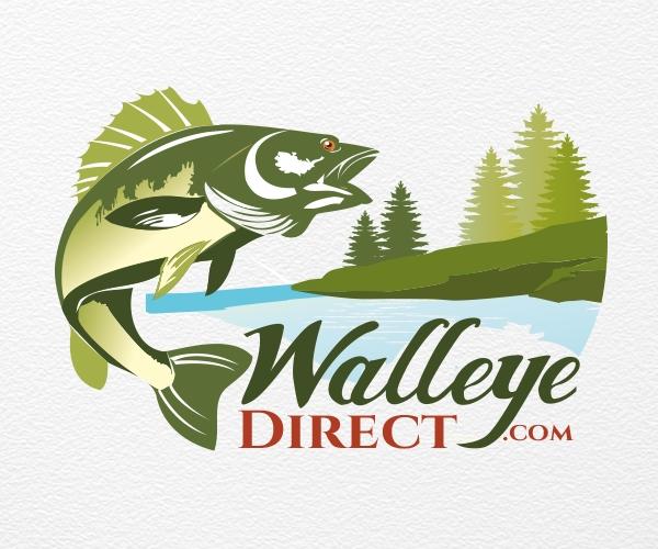 walleye-direct-com-website-logo-design-fish