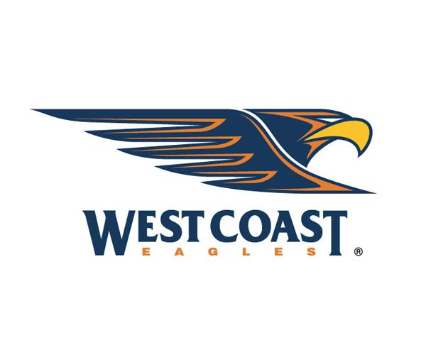 west-coast-eagles-logo-design