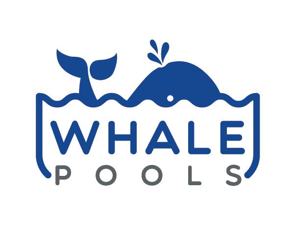 whale-pools-logo-design-idea