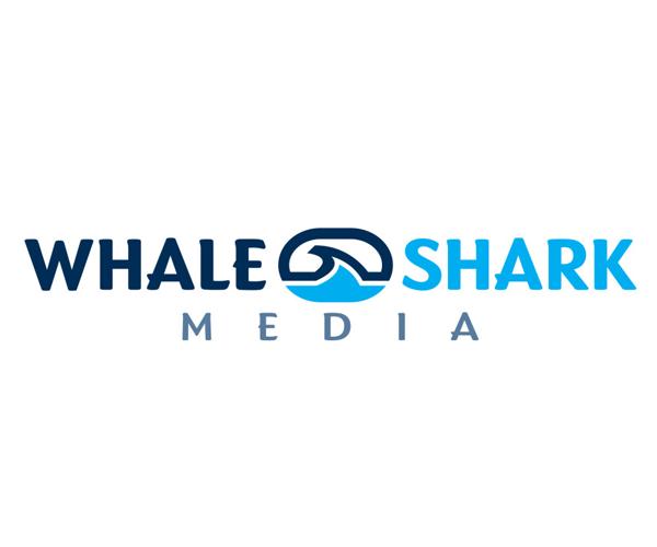 whale-shark-media-logo-design