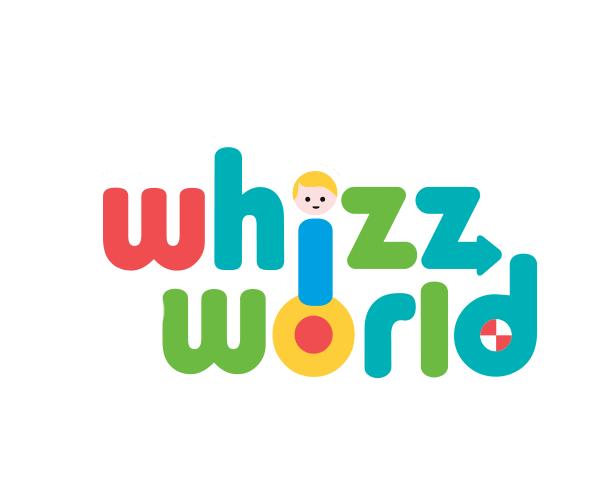whizz-world-logo-design