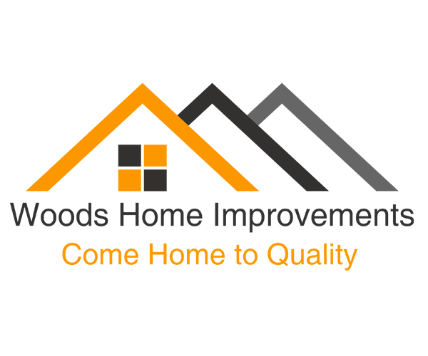 Woods Home Improvement Logo Design