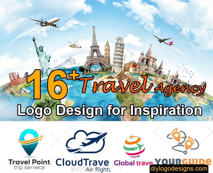 16 Best Travel Agency Logo Design With Mockup