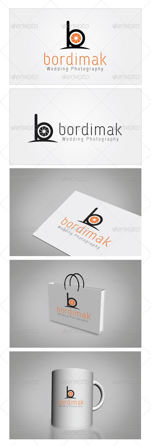 Bordimak Wedding Photography Logo Template
