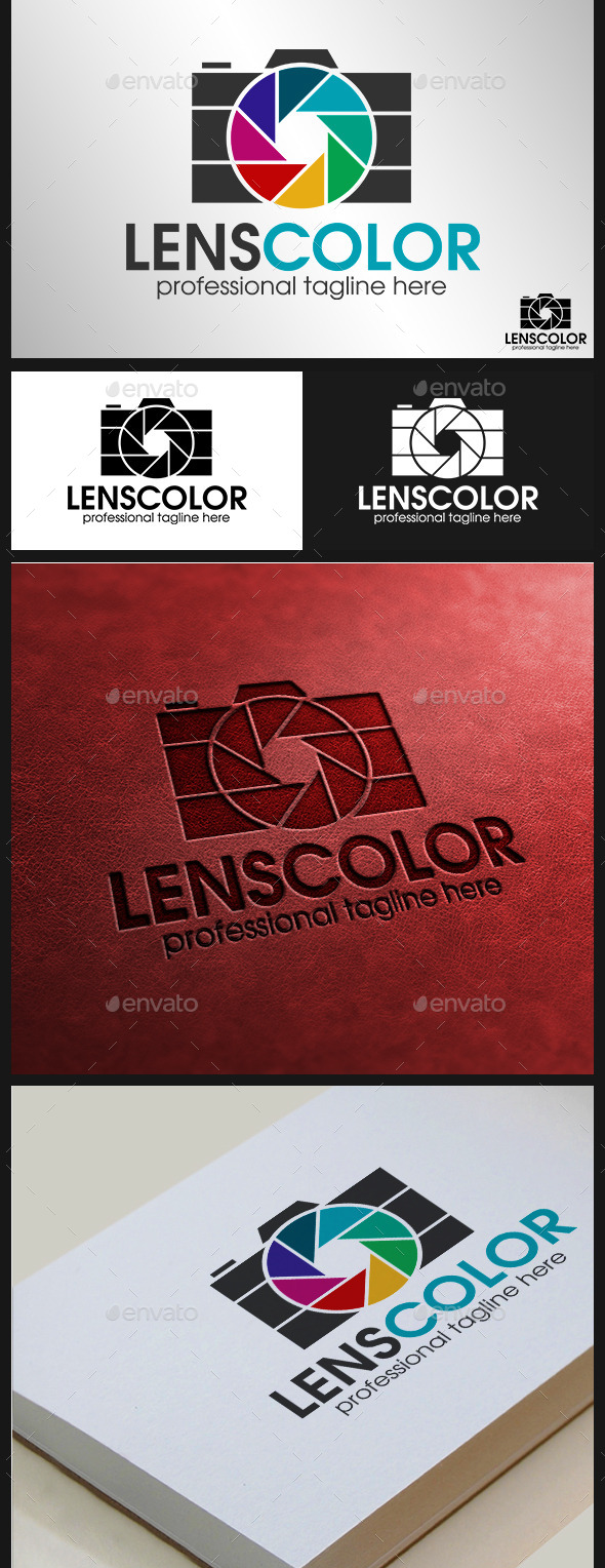Camera-Logo---Lens-Color-Photography