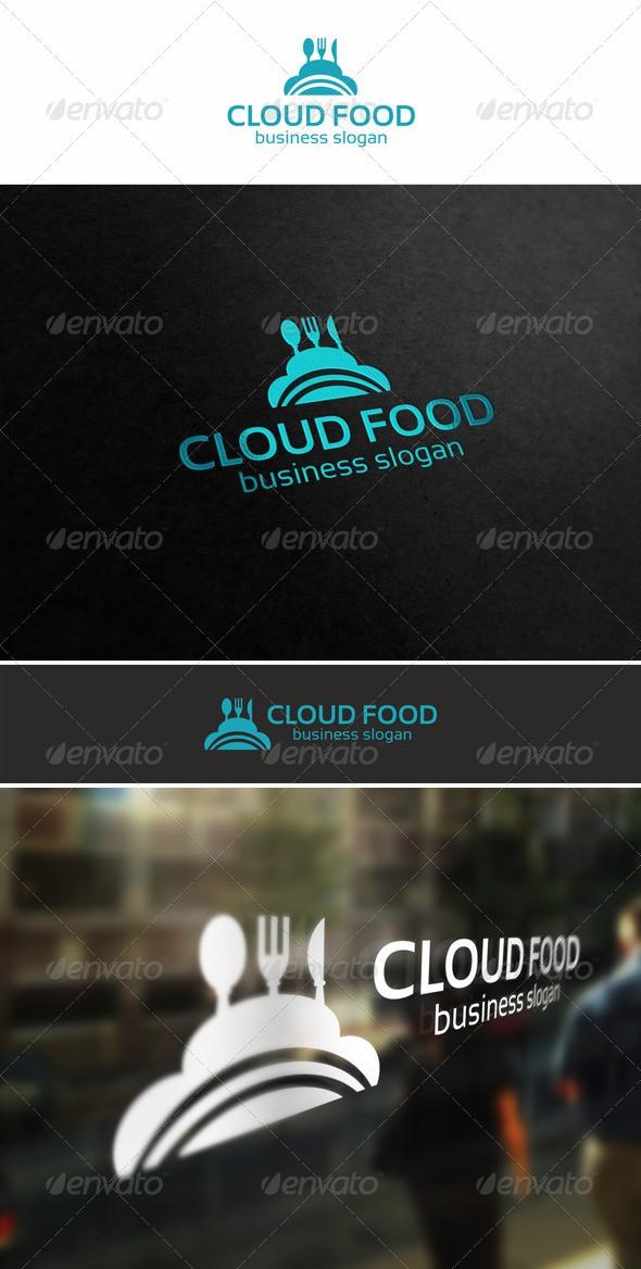Cloud Food Logo download