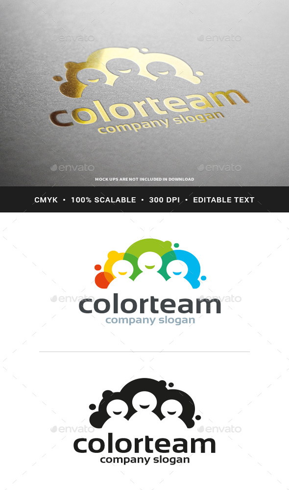 Color-Team-Logo-Template-download