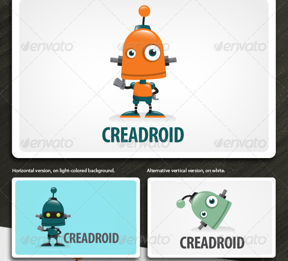 Creadroid---Robot-Mascot-Logo