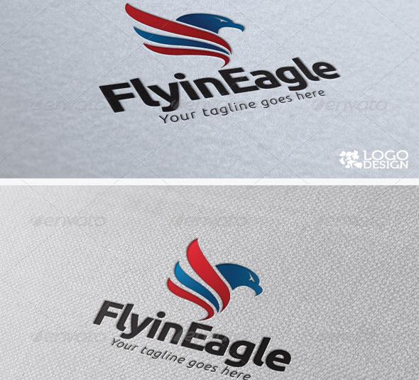 Flying-Eagle-logo-creative-download