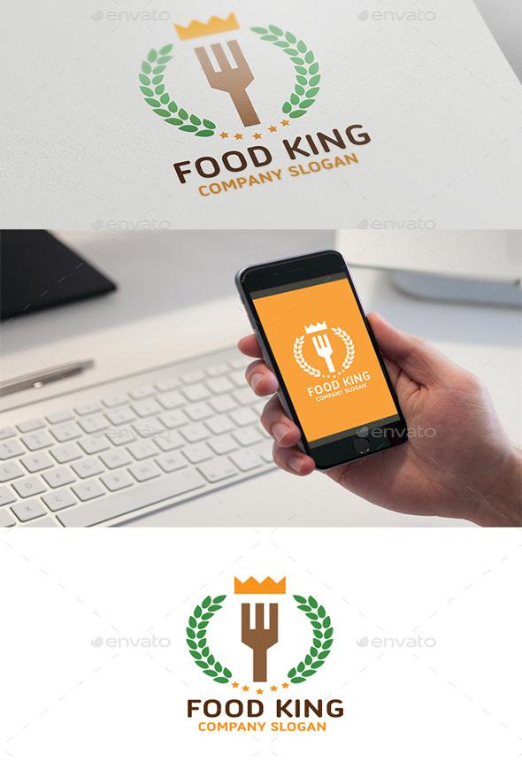 Food-King-logo-download-psd