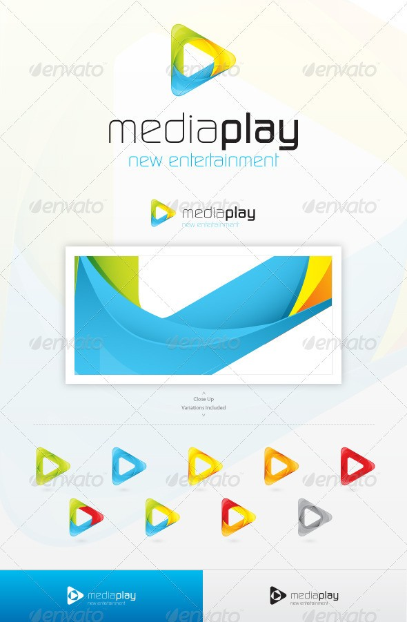 Media Play Logo download for music comapny